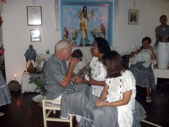 Nosso Vovô - Pai Mané de Aruanda - Foto/Sylvia Arcuri
