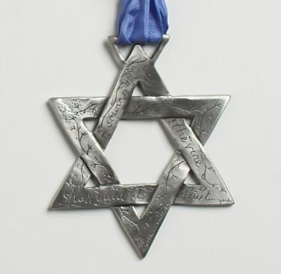 Estrela de David - Simbolo da Tenda Espírita Estrela do Oriente