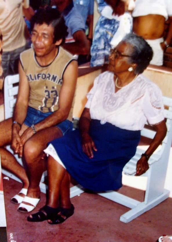 Edson de Carvalho - Presidente da Tenda e Dona Esmeralda